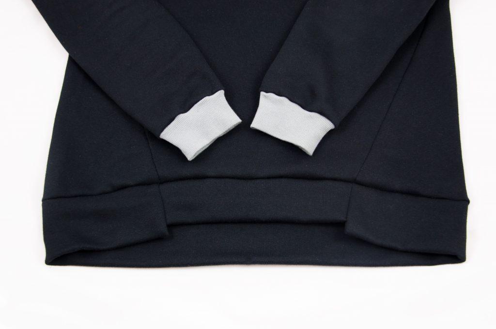 Ärmelbündchen Pullover nähen made by Oni
