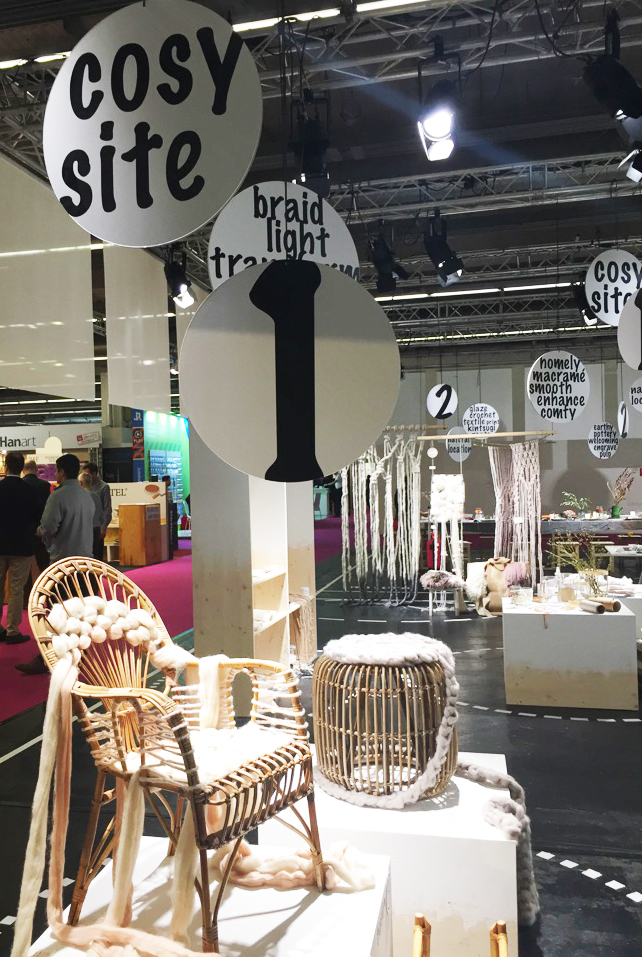 Cosy Site Creativeworld 2019 nähen made by Oni