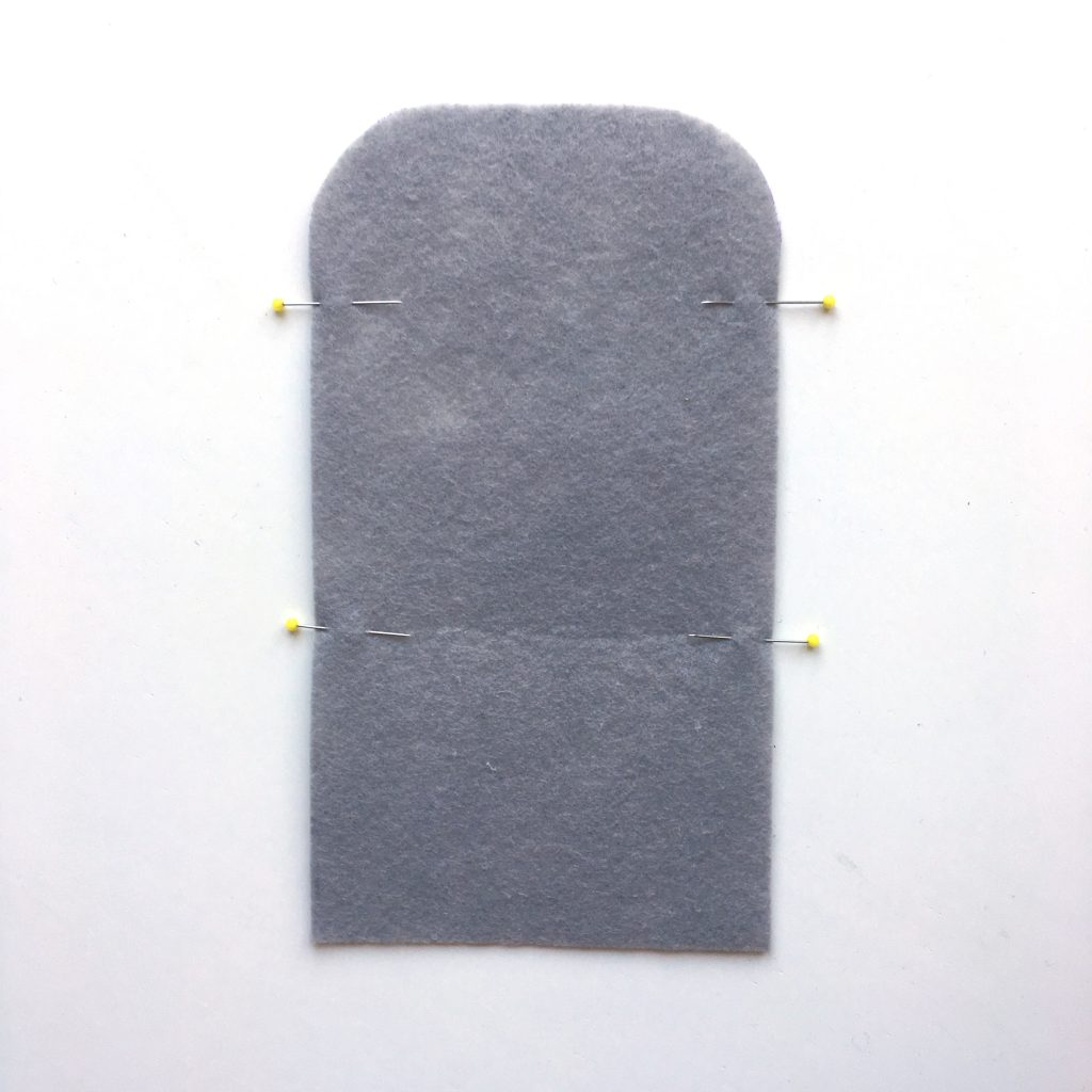 DIY Kartenetui aus Filz nähen made by Oni