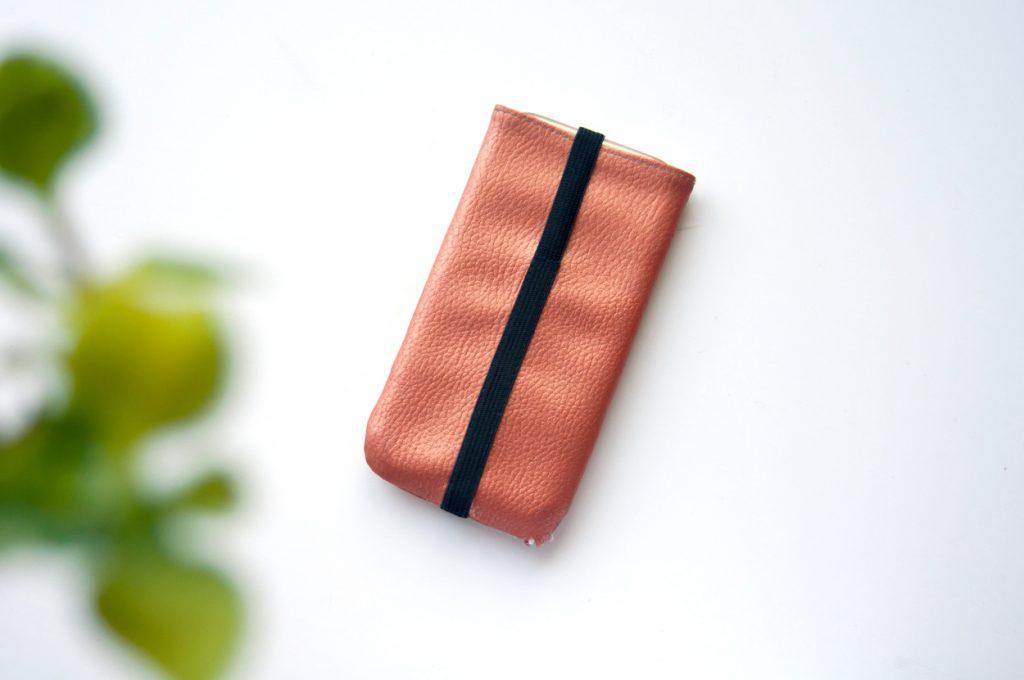Handy Tasche Kunstleder made by Oni geschlossen