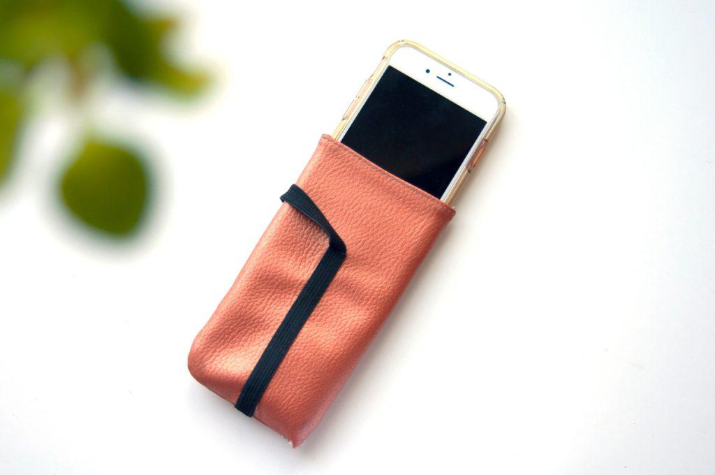 Handy Tasche Kunstleder made by Oni offen