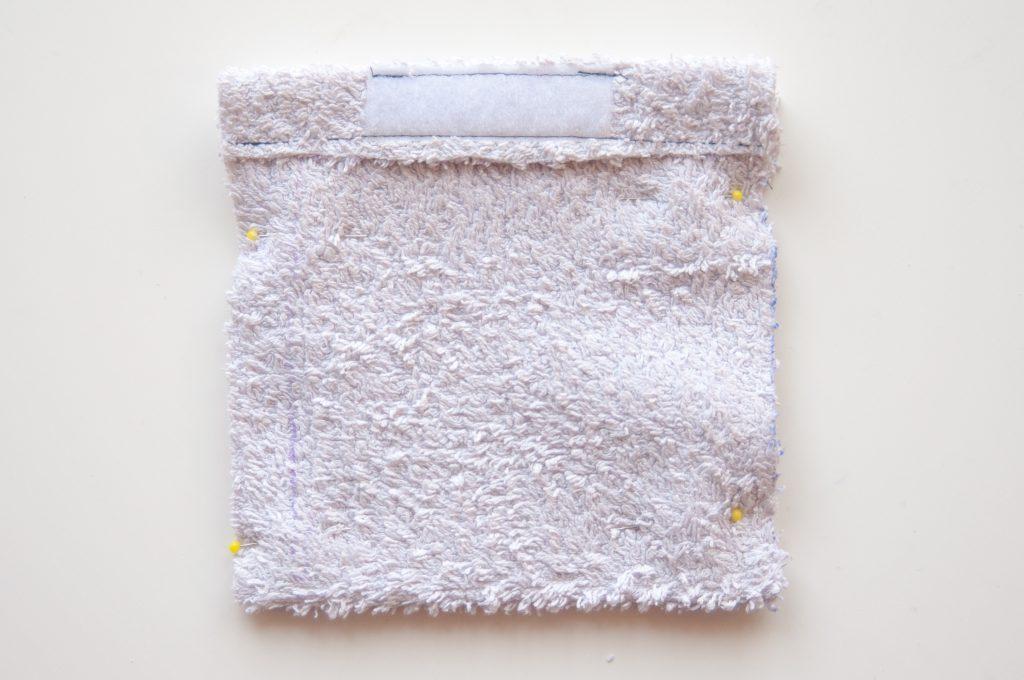 made by Oni, Zero Waste Seifensäckchen rechts auf rechts