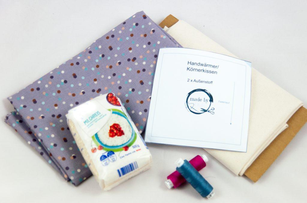 Körnerkissen made by Oni Weihnachten DIY nähen