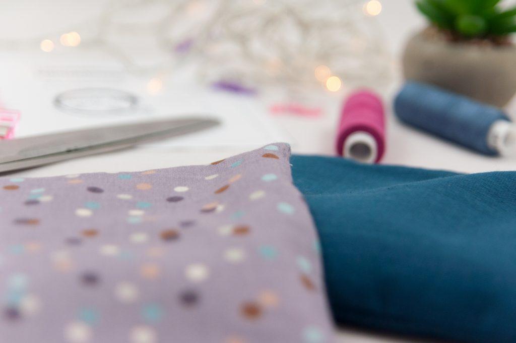 Körnerkissen Material made by Oni Weihnachten DIY nähen