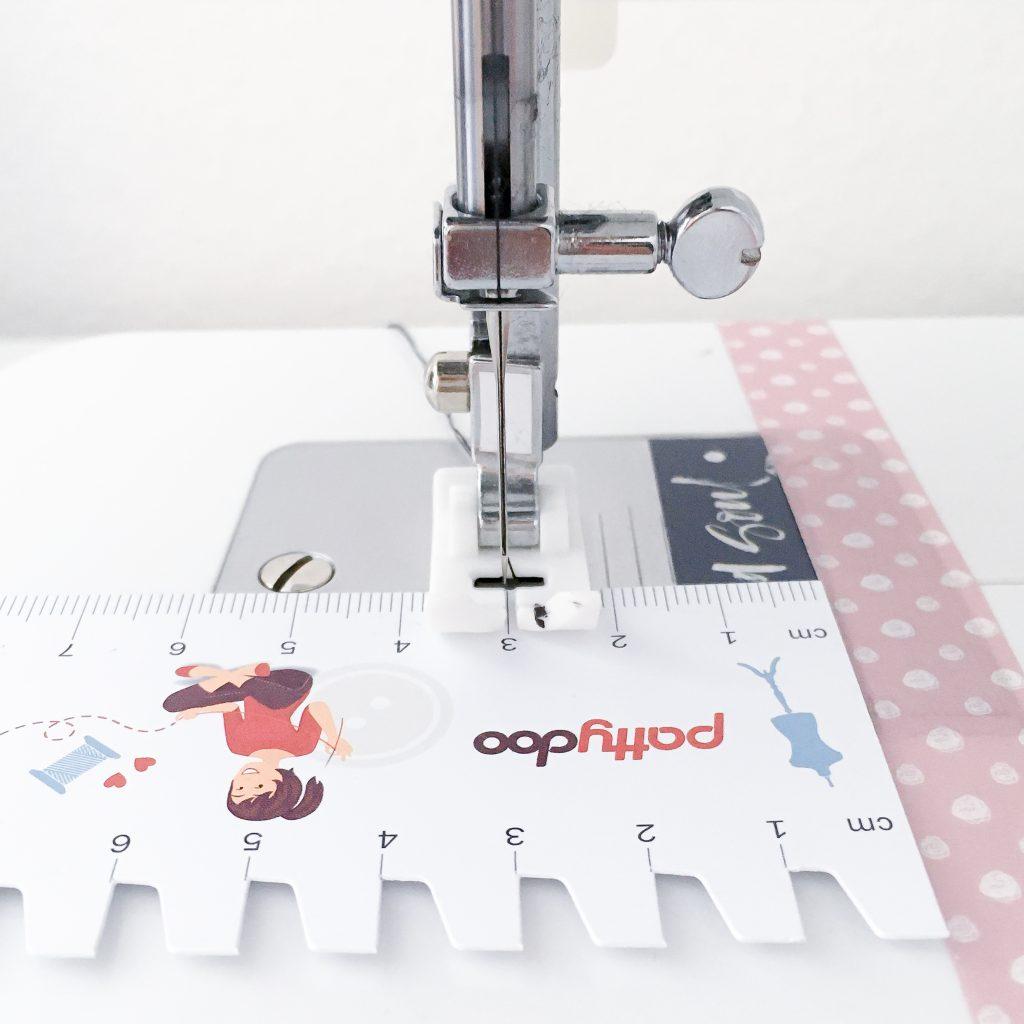 5 Tipps für Nähanfänger made by Oni nähen Washi Tape Nahtzugabe